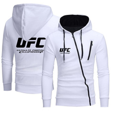 Casual Hoodie, ufc, zippers, boxing