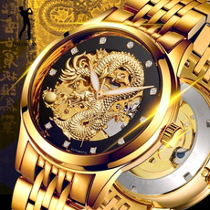 DIAMOND, Gifts, Watch, dragon