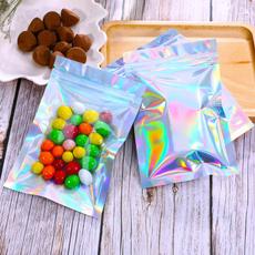 snackpack, plasticbag, diyjewelry, Holographic