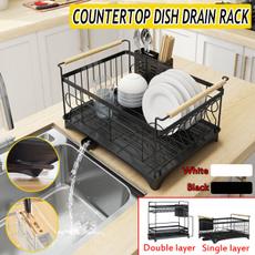 Steel, Kitchen & Dining, Capacity, dishstorage