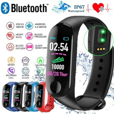 Heart, Monitors, Waterproof, fitnesstracker