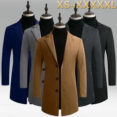 Plus Size, Trenchcoat, Winter, Long Coat