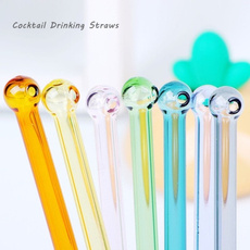 glasstube, strawsreusable, Colorful, straw