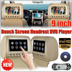Touch Screen, Remote, Monitors, headrest