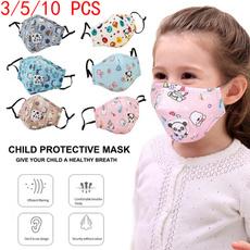 cartoonmask, Cotton, breathing, babymask