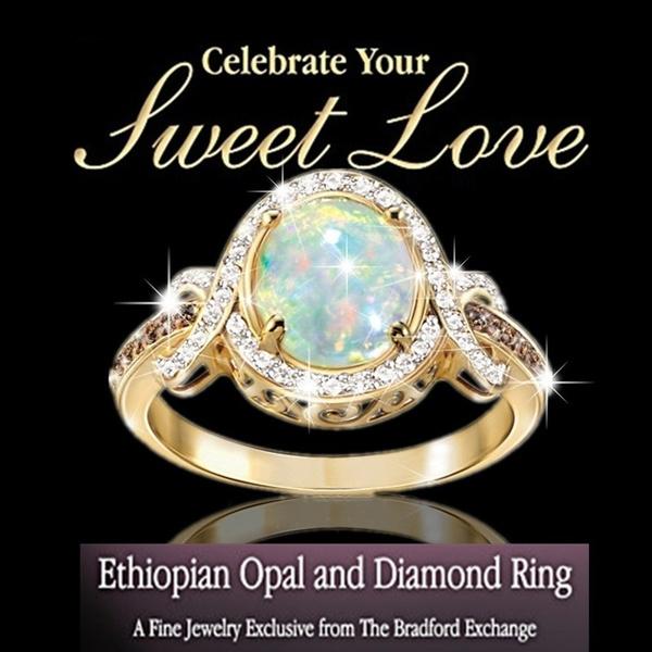 18k gold, wedding ring, gold, opalring