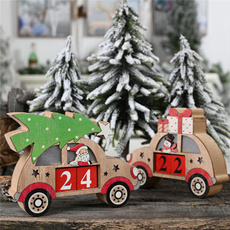 Decor, calendardisplay, Christmas, Wooden