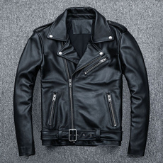 Pocket, bikerjacket, slim, Winter