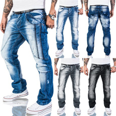 Plus Size, pants, Denim, Men
