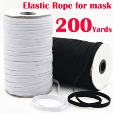 Heavy, elastic belt, Elastic, Masks