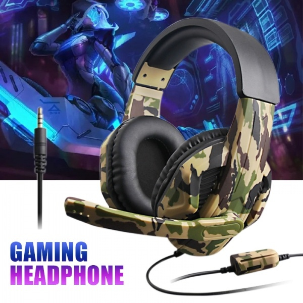 camouflagegamingheadset, Headset, Video Games, gamingheadset