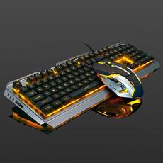 backlitkeyboard, keyboardandmouseset, usb, usbwiredkeyboard