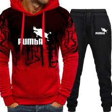 pumbahoodiesuit, hooded, Winter, pants