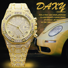 Steel, cool watches, classic watch, gold