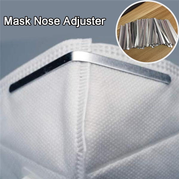 50 100pcs Diy Face Mask Nose Adjuster Nose Bridge Nose Clips