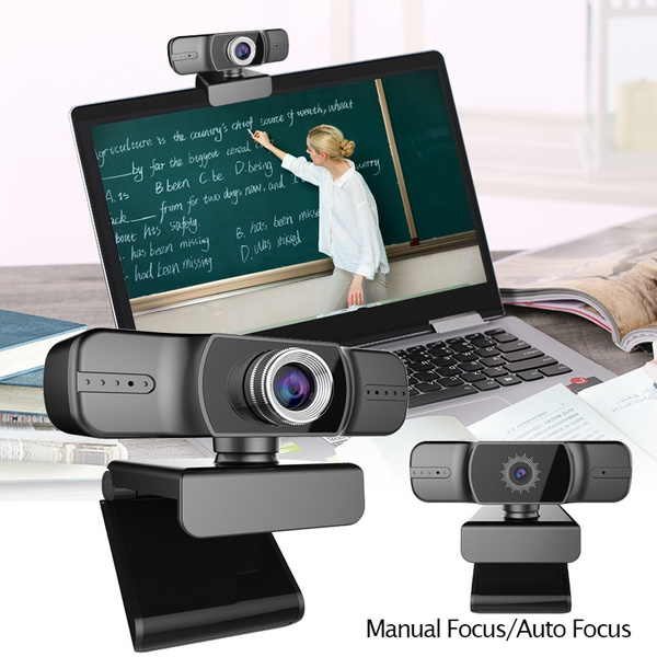 Webcam 1080P HDWeb Camera with Built-in HD Microphone 1920 X 1080p Web Cam  Widescreen Video for Online Courses | Wish