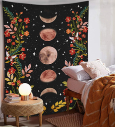 Decor, foresttapestry, art, mystictapestry