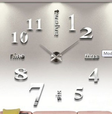 large3dwall, Office, Clock, Stickers