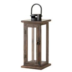 Wooden, New, Lantern