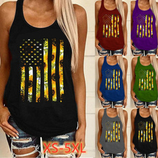 sunflowertanktop, Summer, Fashion, womentshir