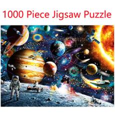 kids, spacepuzzle, jigsawpuzzlesforadult, Jigsaw