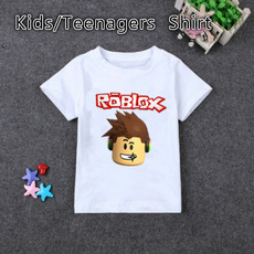 kids, Head, summer t-shirts, robloxkidstee