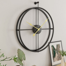 Decor, ironwallclock, Office, Clock