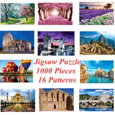landscapepuzzle, paperpuzzle, parentchildgame, woodpuzzle