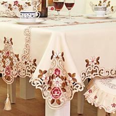Home Decor, Lace, embroiderytablecloth, embroidered