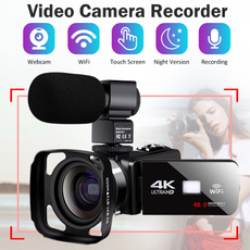 Webcams, Touch Screen, professionalcamcorderforlivestreaming, cameramicrophone