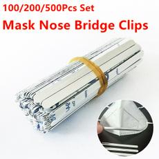 nosebridgestrip, Aluminum, diymask, maskmaterial