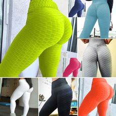 Leggings, elastic waist, Yoga, Waist