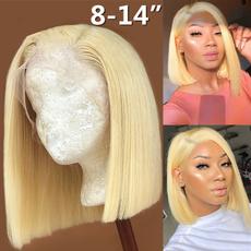 wig, Shorts, Lace, blondebobwig