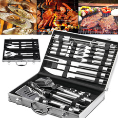 case, Steel, barbecuetool, Christmas