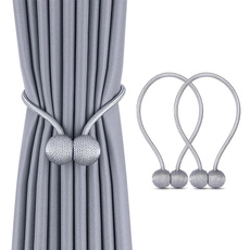 magneticpearlball, Rope, curtainball, curtainrod