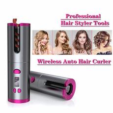 Tenazas para cabello, Rechargeable, usb, haircareampstyling