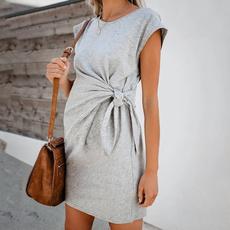 Waist, Dress, Comfortable, Women's Fashion