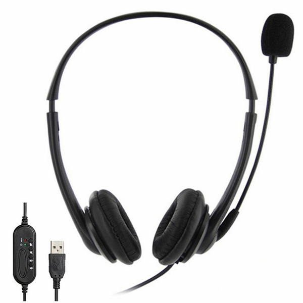 Bluetooth Headset Wireless Headset With Microphone Noise Cancelling Hands Free Phone Headset For Home Office Call Center Office Pc Skype Business Conference Online Learning Course Wish