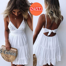 Summer, Lace Dress, pleated dress, Lace