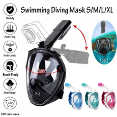 divingmask, antifogmask, goprofacemask, snorkelingmask