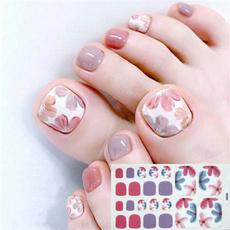 Nails, toenailsticker, art, Beauty