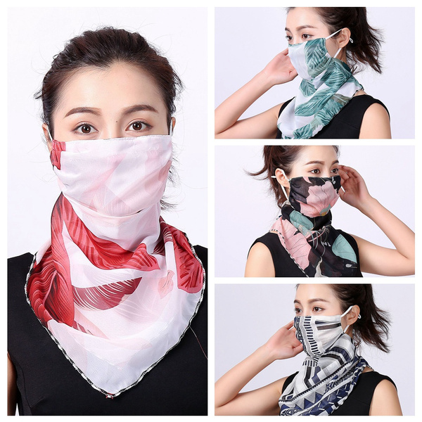 Triangles, cyclingequipment, chiffonfacemask, halffacemask