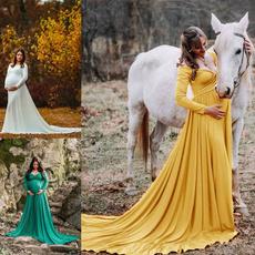 maternitydressforphotography, gowns, gownmaternity, cottondresslongsleeve