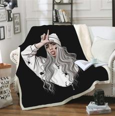Fleece, blanketcloak, bedblanket, Sofas