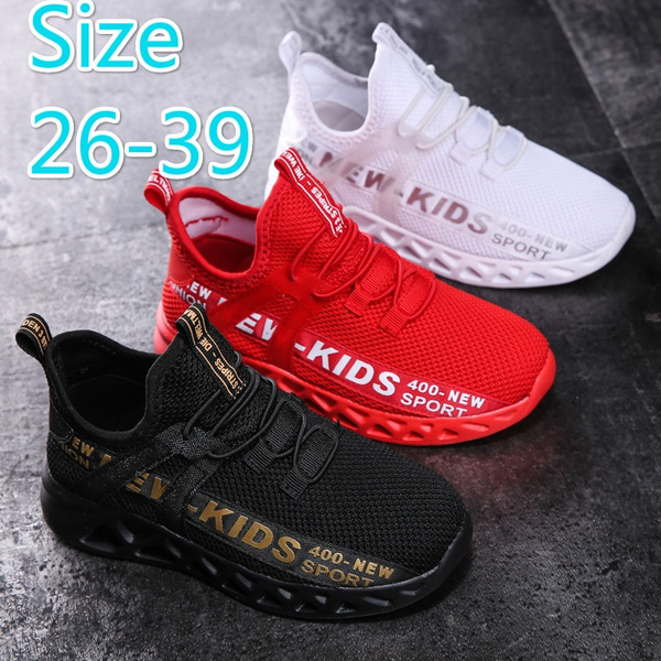 Child Boys Girls Walking Running Shoes Kids Athletic Sneakers Casual Sport Shoes