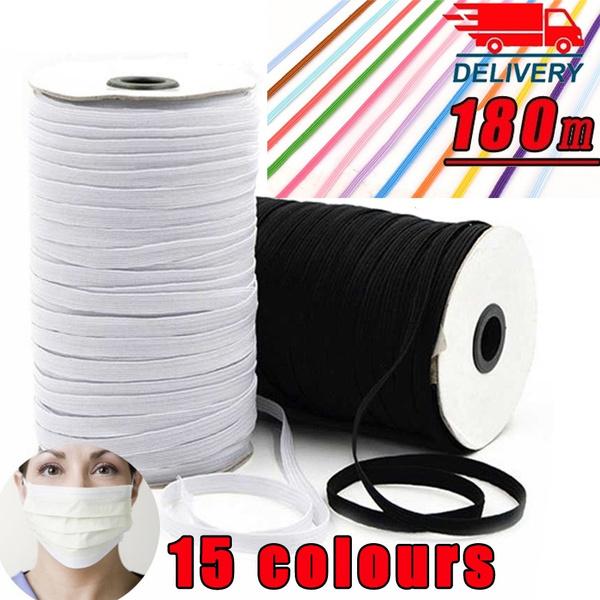 Elastic Bands Sewing Band Ribbons Diy Crafts Flat Elastic Cord