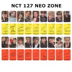 K-Pop, 9x, photograph, Card