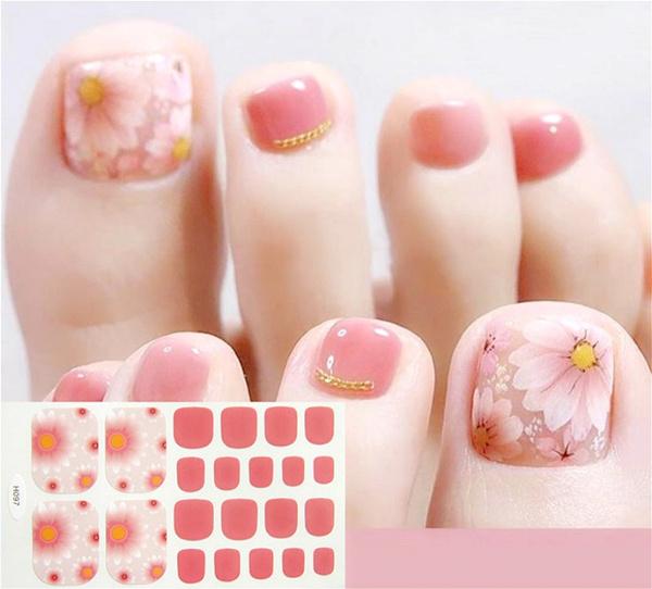 Nails, toenailsticker, Beauty, Spring