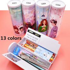 Box, pencilcase, School, colorfulpencilcase
