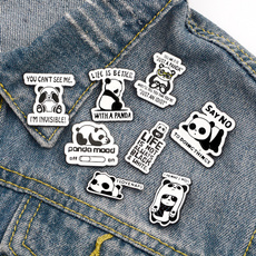 Clothing & Accessories, pandapin, Pins, cute